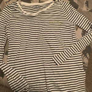 SNOW DAY STRIPE TEE